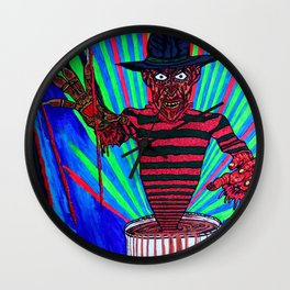 1, 2 Decaf is bad for you / Freddy Wall Clock
