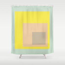 Color Ensemble No. 1 Shower Curtain
