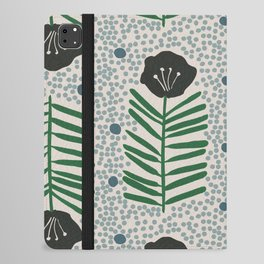 Seedling Floral iPad Folio Case