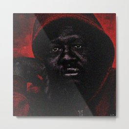 """American Skin"" Portrait Painting by Jeanpaul Ferro Metal Print"