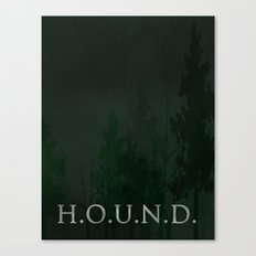 No. 5. H.O.U.N.D. Canvas Print