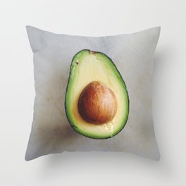 Avocado Love (3)  Throw Pillow