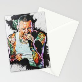 Chester bennington 'One more light' Stationery Cards