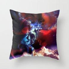 Celestial Force Throw Pillow