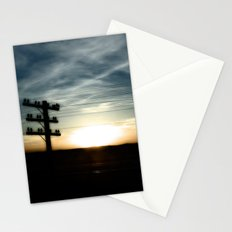 Sunset on the Road Stationery Cards
