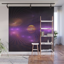 Many Worlds Away Wall Mural