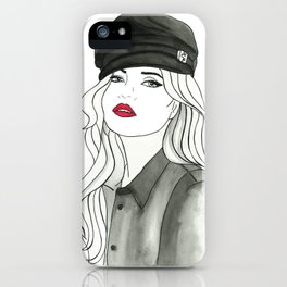 Vintage Kate Moss iPhone Case