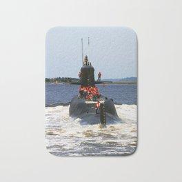 USS MARIANO G. VALLEJO (SSBN-658) Bath Mat