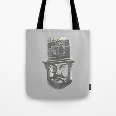 Old man hatten Tote Bag