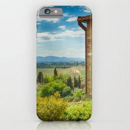 Tuscany, Italy iPhone Case