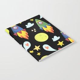 Rocket Ships Notebook