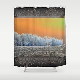 Winter Woods Shower Curtain