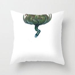 My Favorite Flower Throw Pillow