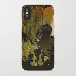 Dinosaur Poster iPhone Case