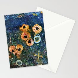 Abstract beautiful barnacles Stationery Cards