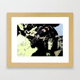 Revenge Of the Giant Framed Art Print