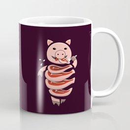Gluttonous Cannibal Pig Coffee Mug