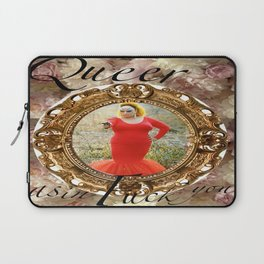 Queer as in Fuck You - Divine Laptop Sleeve