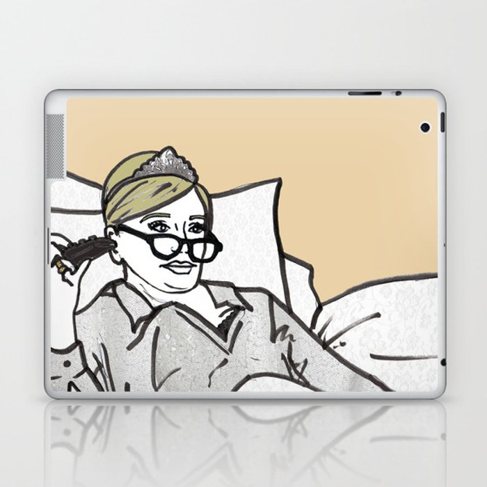 Lady Morgan Laptop & iPad Skin