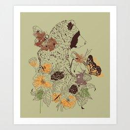 Northern Bear Art Print