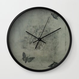 This Is The Actual Size Of My Heart Wall Clock