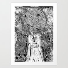 Under The Tree Art Print