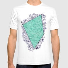 Shape 1 Mens Fitted Tee White MEDIUM