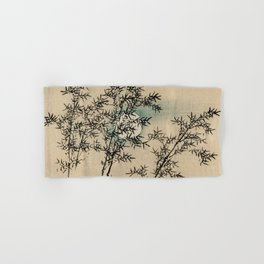 Bamboo Branches Traditional Japanese Flora Hand & Bath Towel