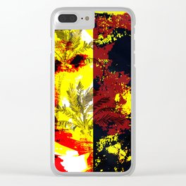 Invincible Summer Clear iPhone Case
