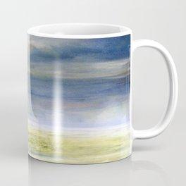 Sea Shore Watercolor Ocean Landscape Nature Art Coffee Mug