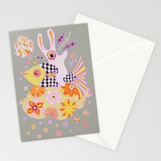 Fish Rider Stationery Cards