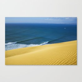 Shipwreck Bay Dunes Canvas Print