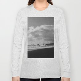 Dyrhólaey, Iceland BW Long Sleeve T-shirt