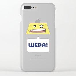 ...WEPA! Clear iPhone Case