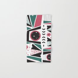 Fresh Mojo Mid-Century Modern Contemporay Design Hand & Bath Towel