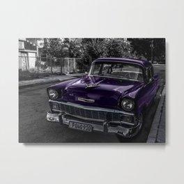 Lilac Ride Metal Print