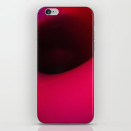 Black hole in pink iPhone Skin