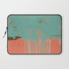 Infinity abstract art print pink turqoise Laptop Sleeve