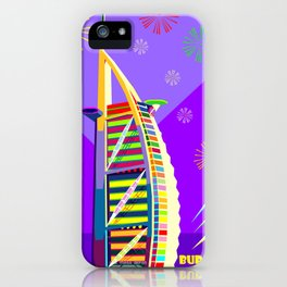 Al buruj Tower iPhone Case