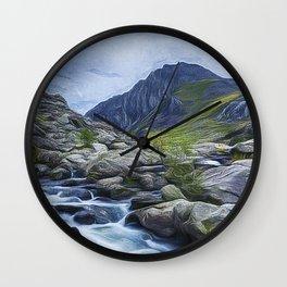 Tryfan Painting Wall Clock