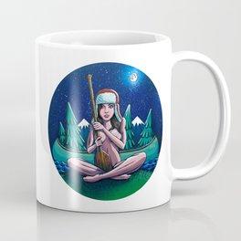 Canoe Girl Coffee Mug