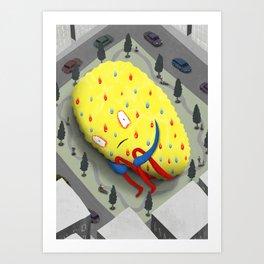 Urban Anxiety Art Print