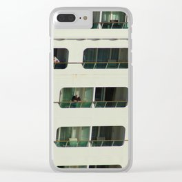 Just cruising... Clear iPhone Case