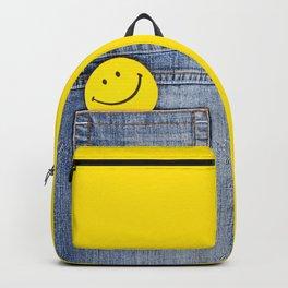 Smile in jeans pocket Backpack