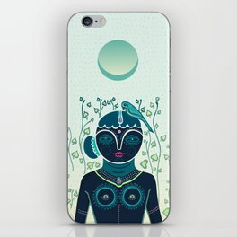 Indian woman iPhone Skin