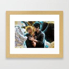 angels Framed Art Print
