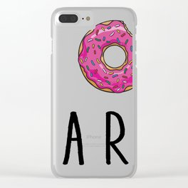 I donut Clear iPhone Case