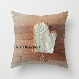 Yes, There Really is a Kalamazoo #puremichigan Throw Pillow