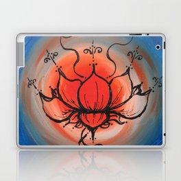 Orange Lotus Laptop & iPad Skin