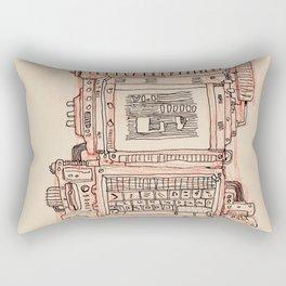 Terminal Rectangular Pillow